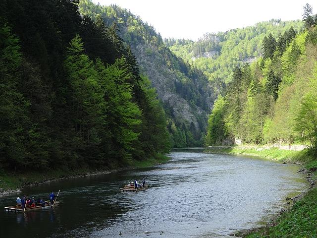 sjíždění řeky