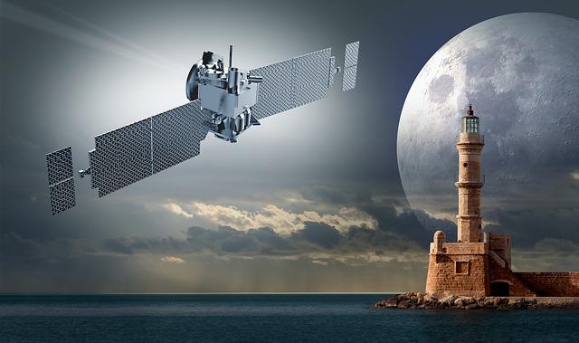 satelit a maják