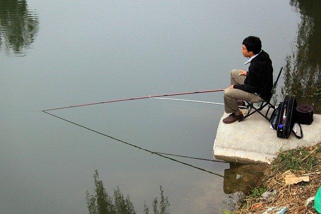 číňan rybaří